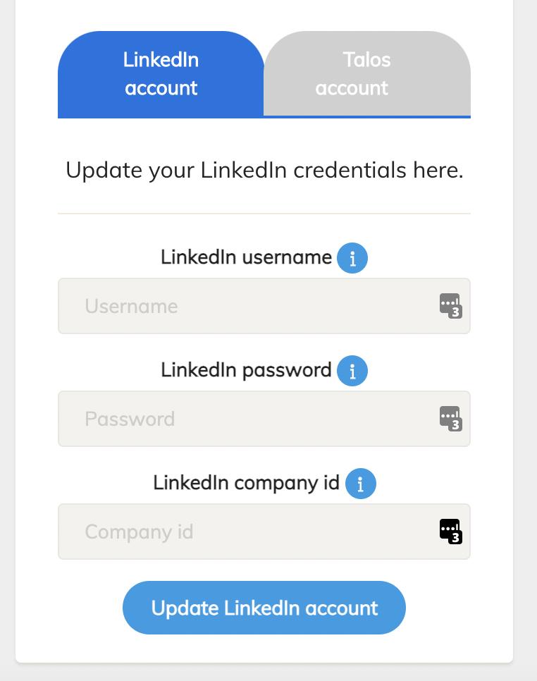 linkedin settings